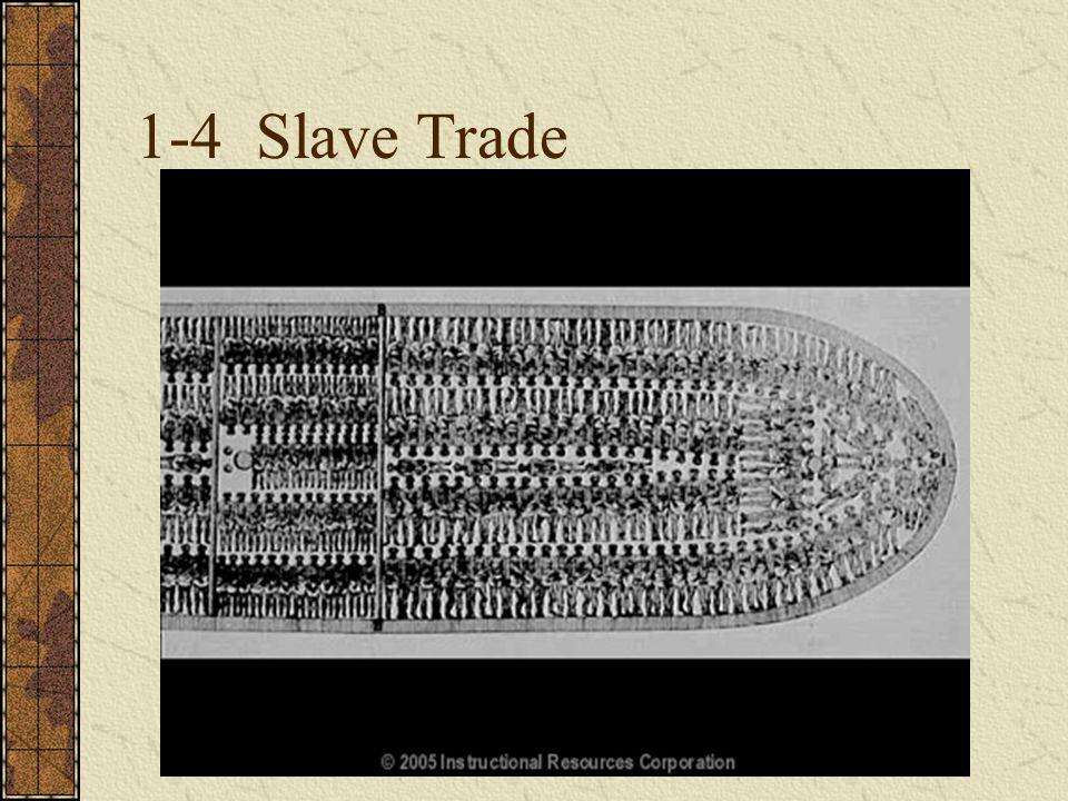 1-4 Slave Trade