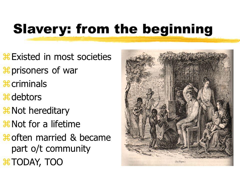 The Slave Trade zAtlantic Slave Trade zAfrican Slave Trade zTriangular Trade z commerce (trade) in human beings.