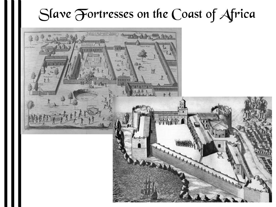 Slave Fortresses on the Coast of Africa