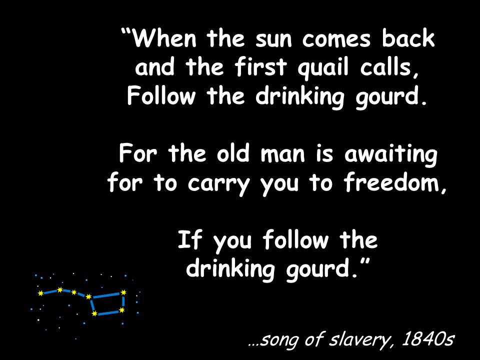 The Underground Railroad was not underground.
