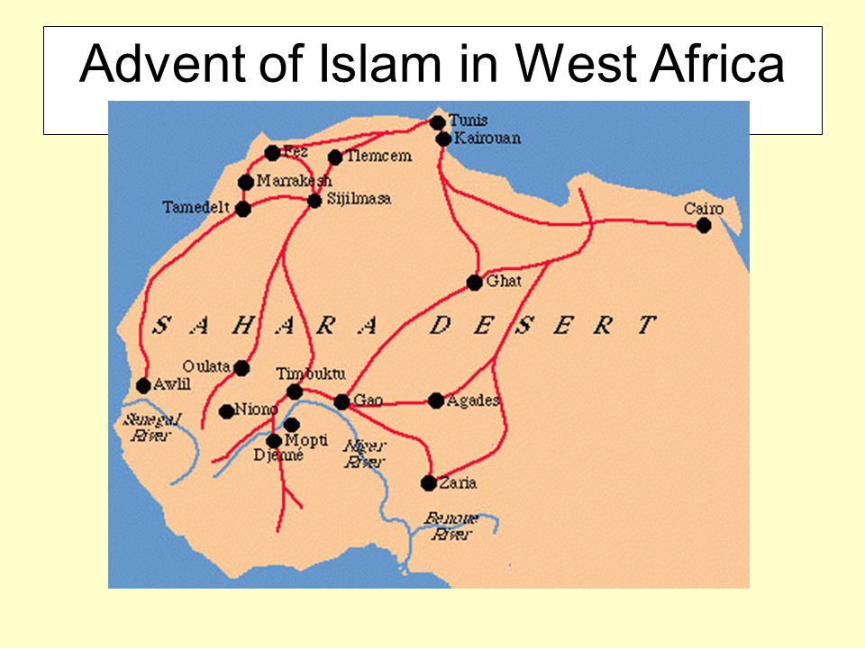 Advent of Islam in West Africa