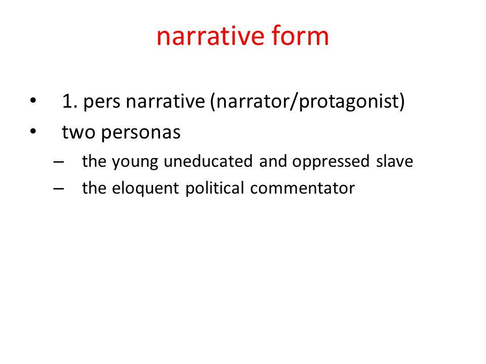 narrative form 1.
