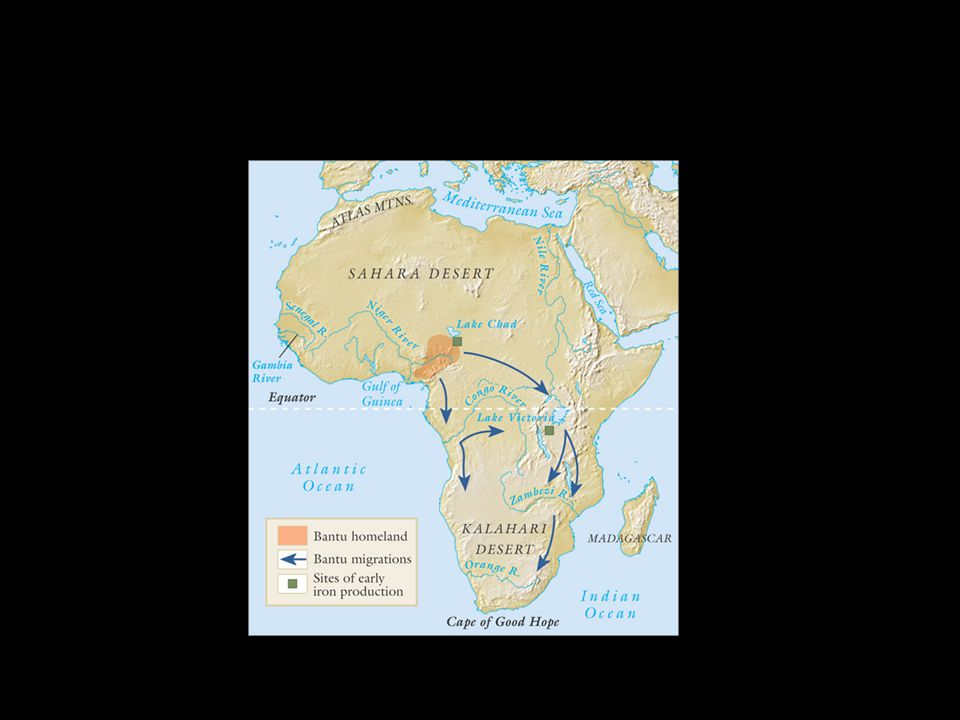Slave Trading Increased trans-Saharan and Indian Ocean trade stimulates slave trade, 9 th c.