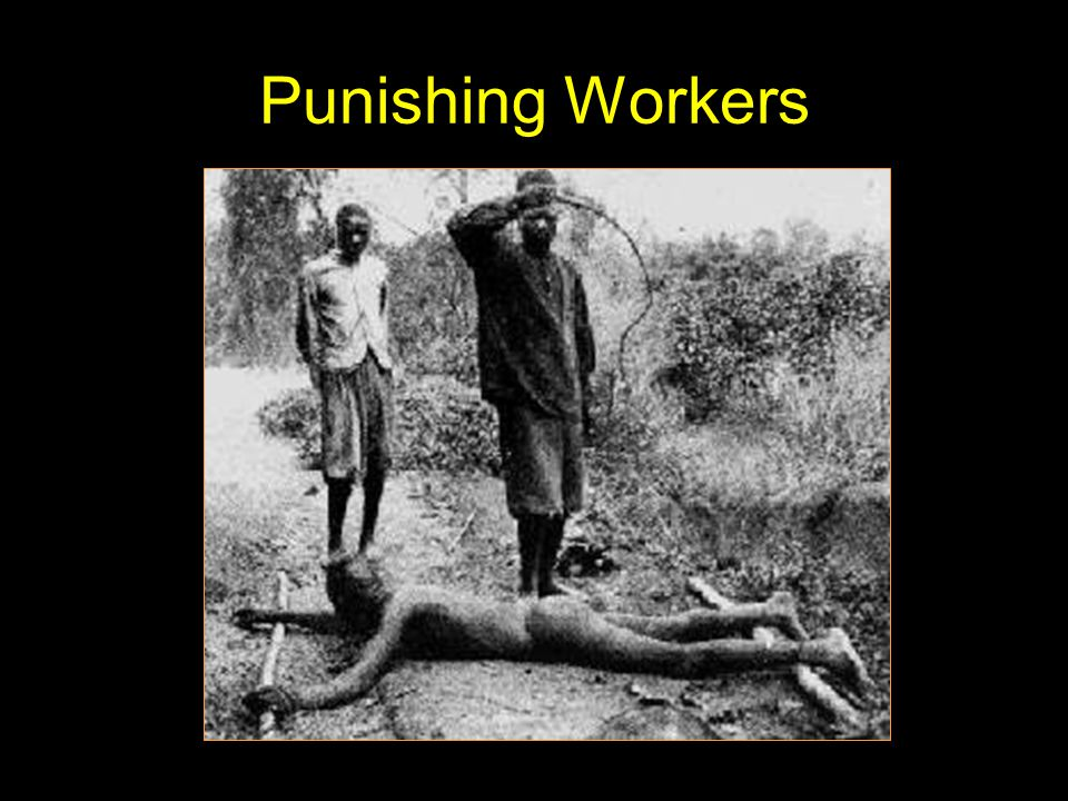 Punishing Workers