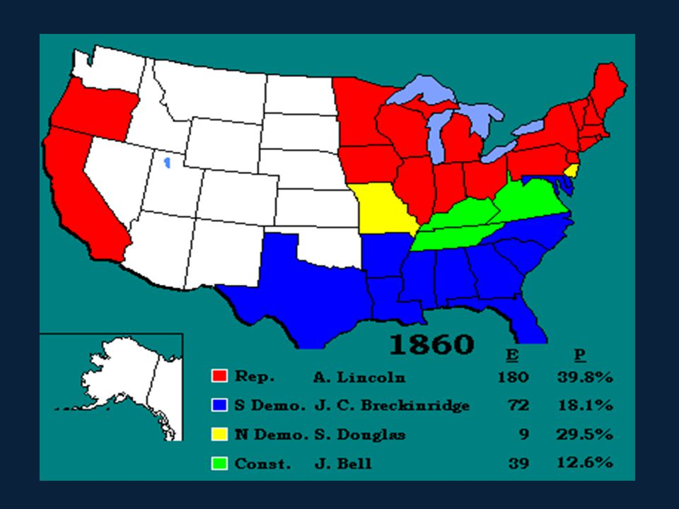 Presidential Election of 1860 In 1860, Stephan Douglas and Abraham Lincoln ran against each for president. Lincoln had become well known from their de