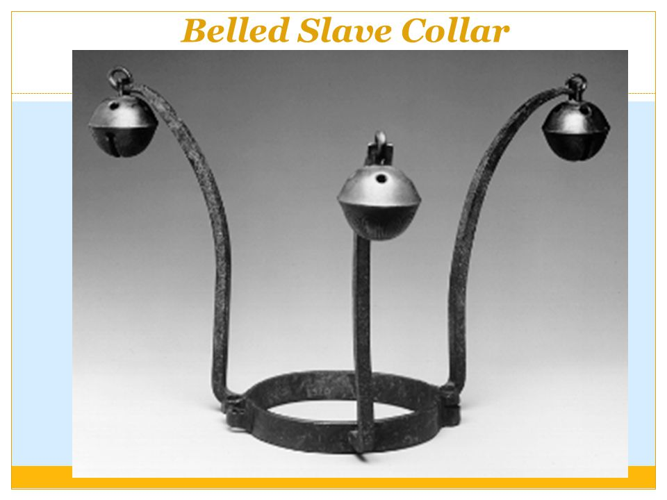 Belled Slave Collar