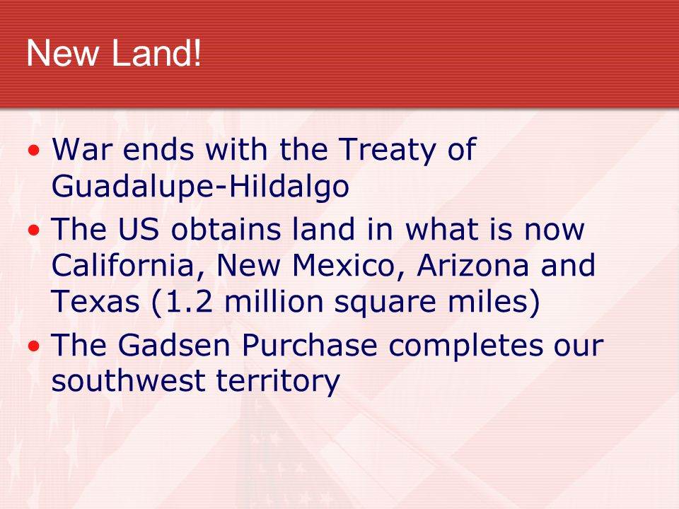 New Land.