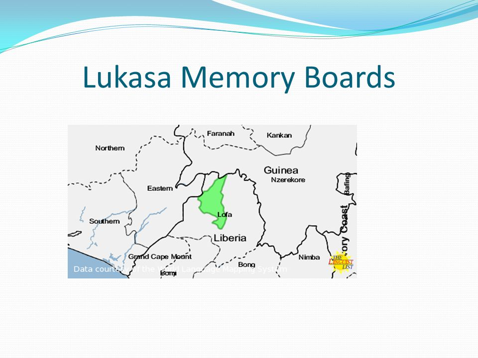 Lukasa Memory Boards
