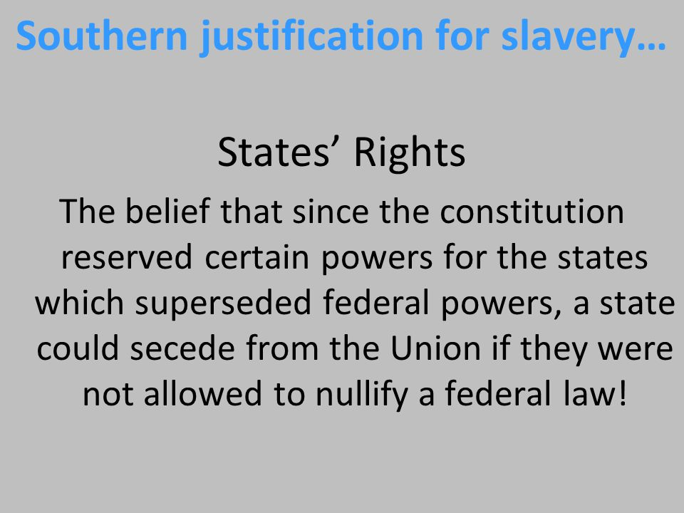 Secession of South Carolina Justification States' rights Reaction Lincoln refuses to recognize secession