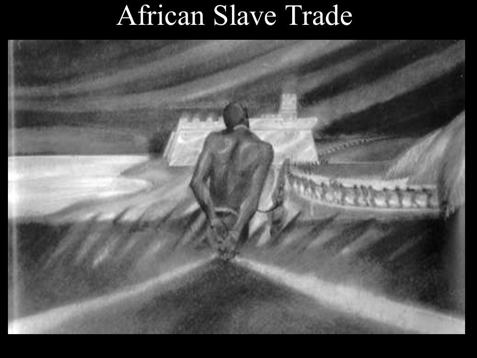 The Spanish and Portuguese had enslaved Africans to work in the sugar plantations on the islands off the coast of Africa.