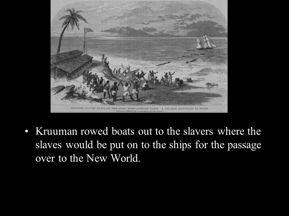 Ship Captains became know for their reputations as Tight Packers or Loose Packers this referred to the amount of slaves a captain was willing to put on his ship.