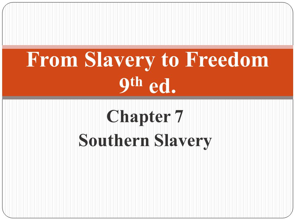 © 2010 The McGraw-Hill Companies, Inc. All Rights Reserved. 22 Haywood Dixon, slave carpenter