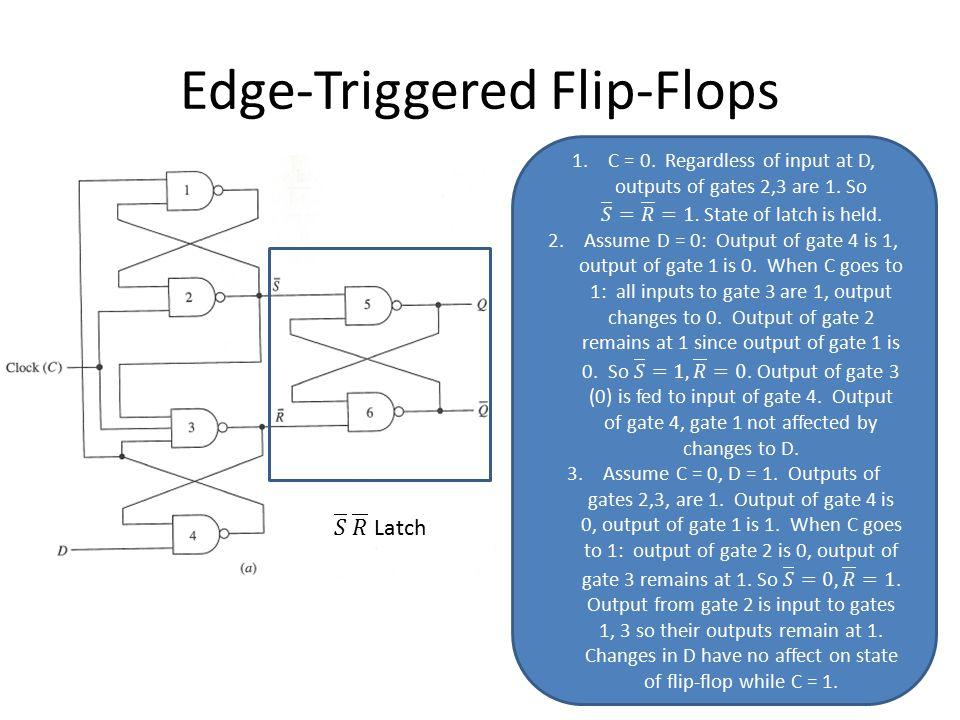 Edge-Triggered Flip-Flops