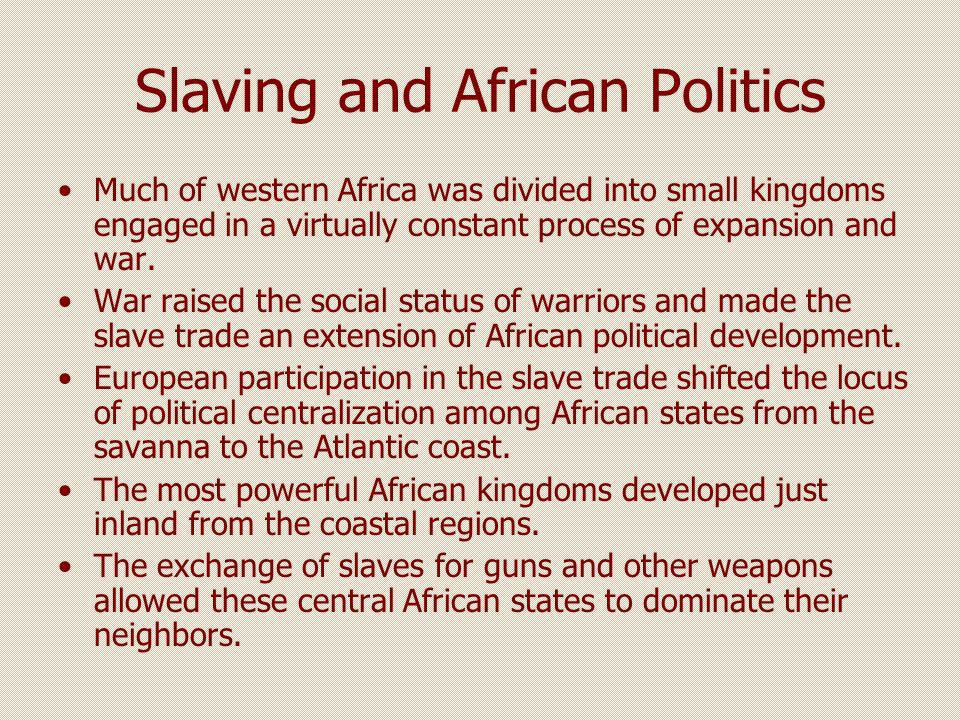 Asante In the Gold Coast, the Asante empire rose during the era of the slave trade.