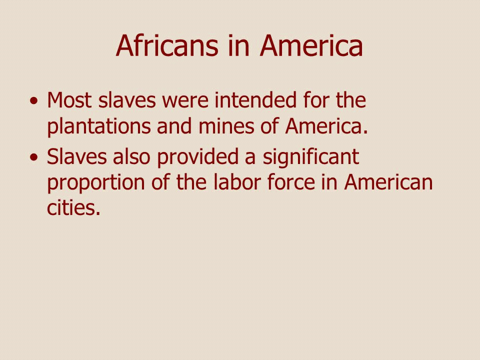 American Slaves Society American society was based on both ethnicity and race.