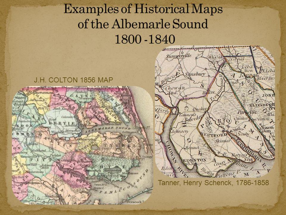 J.H. COLTON 1856 MAP Tanner, Henry Schenck, 1786-1858