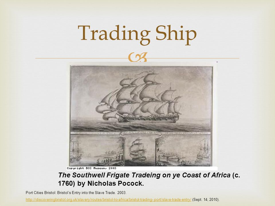  Trade and Triangular Trade Slavery within Africa Triangular Trade Ibid,.