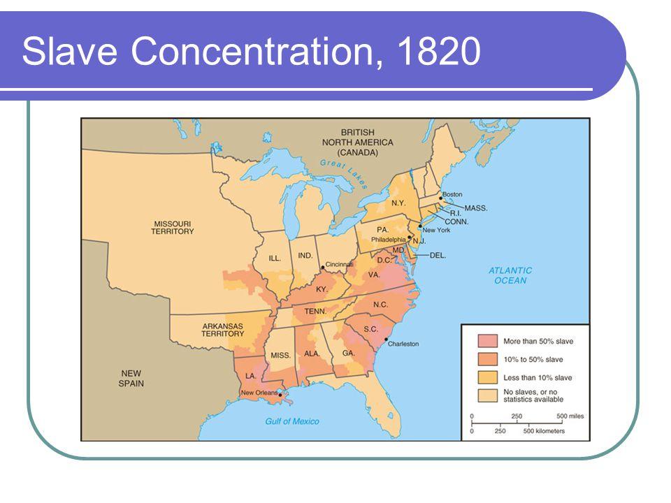 Slave Concentration, 1820