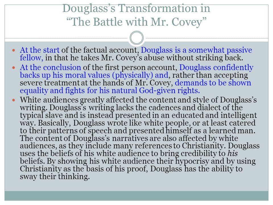 Douglass vs.Mrs. Auld Douglass and Mrs.