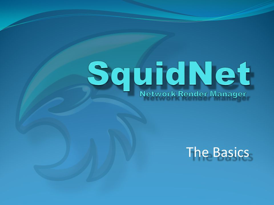RENDERNODE01 In order to process job requests, SquidNet needs to know where applications are installed on each node.