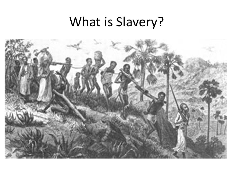 Slavery outside the Americas Some form of slavery has been attested for practically every human civilization around the globe.