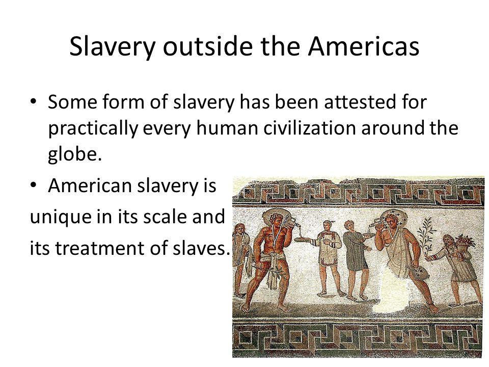 Society with Slaves vs. Slave Society
