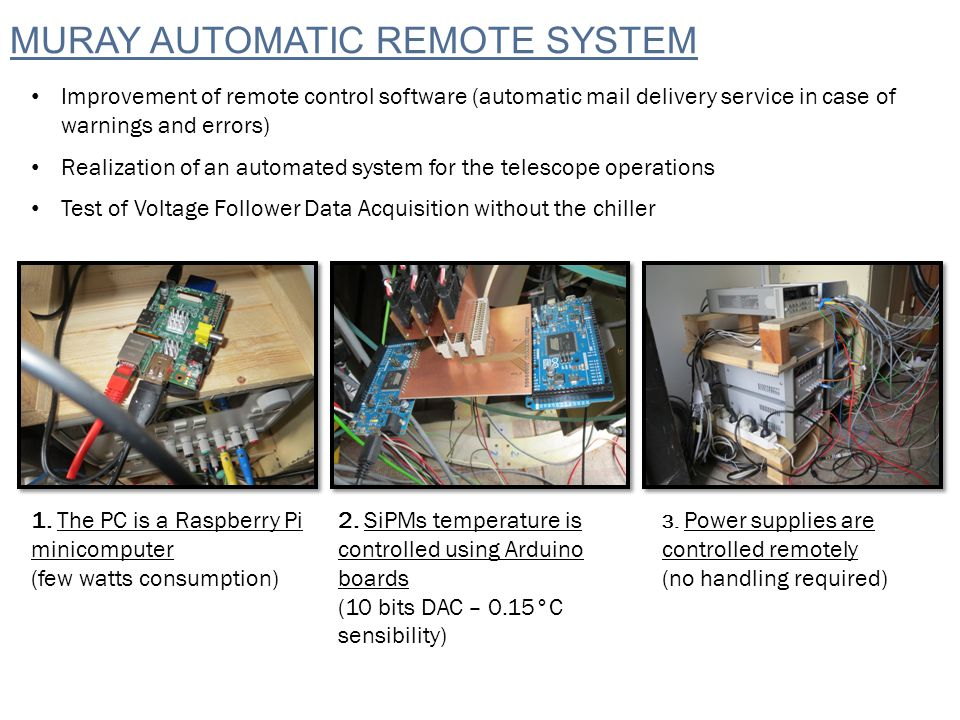 Data Analysis Remote Alarm Website USE OF THE DATABASE AND RAW DATA computer Linux OS DB Data Quality ONLINEOFFLINE