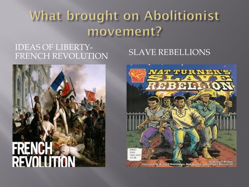 IDEAS OF LIBERTY- FRENCH REVOLUTION SLAVE REBELLIONS