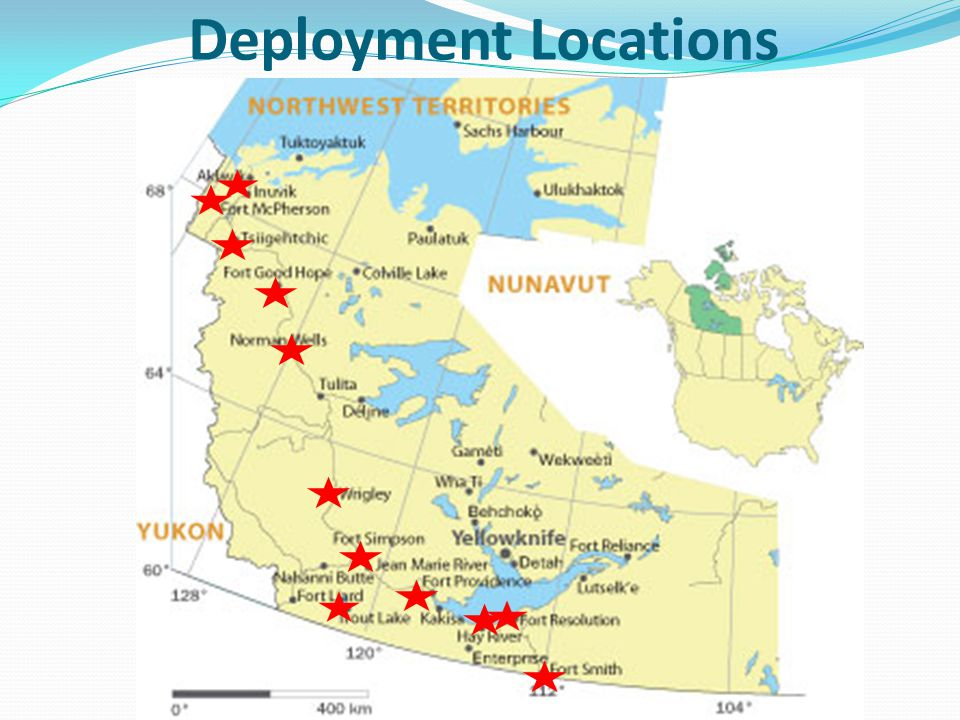 Deployment Locations