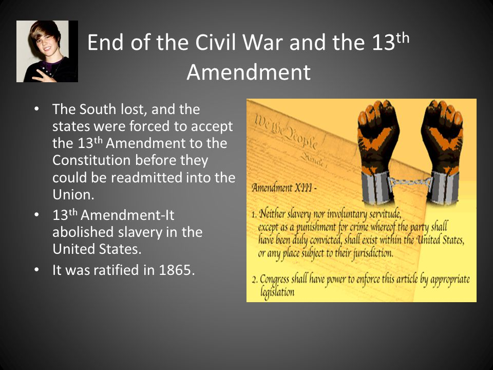 The Civil War and the Emancipation Proclamation Early in the war, Lincoln began to think about ending slavery in the South to help end the war.