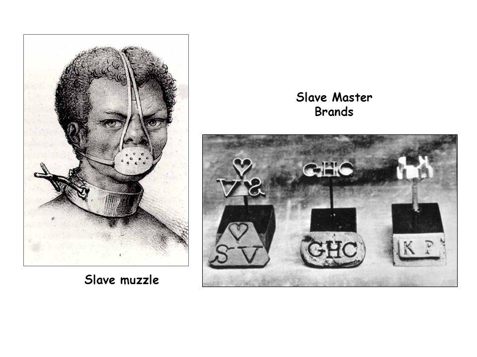 Slave Master Brands Slave muzzle