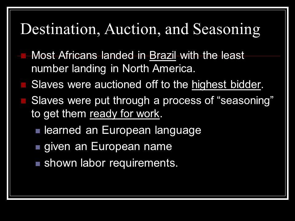 Punishment Slaves were often brutally punished for misbehaving.