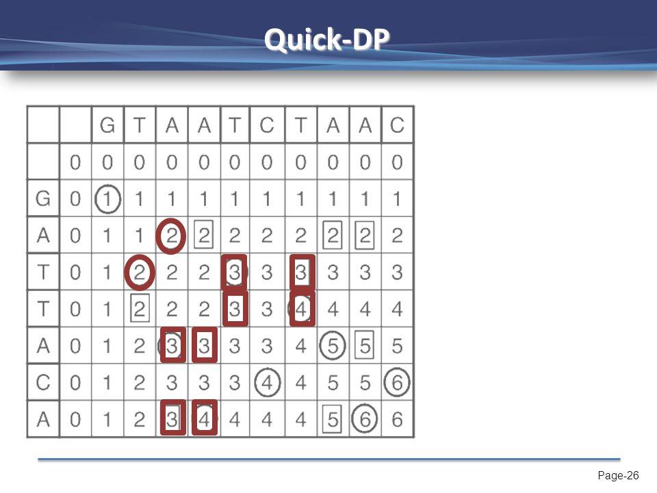 Page-27 Example: D 2 →D 3 T T A A 1. Par s 2. Minima(Par s )