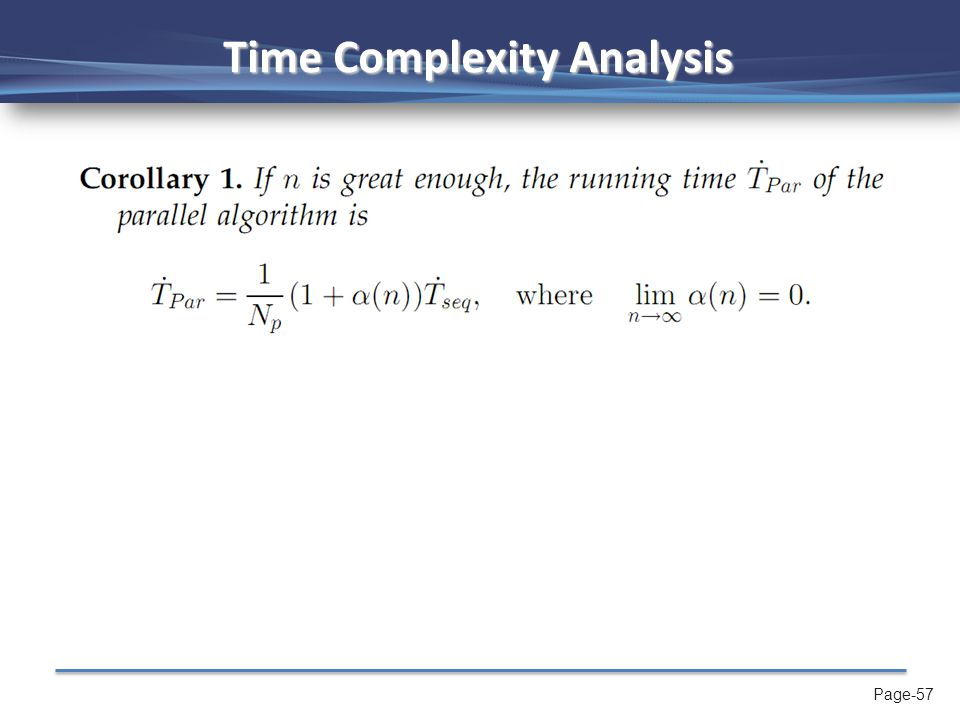 Page-57 Time Complexity Analysis