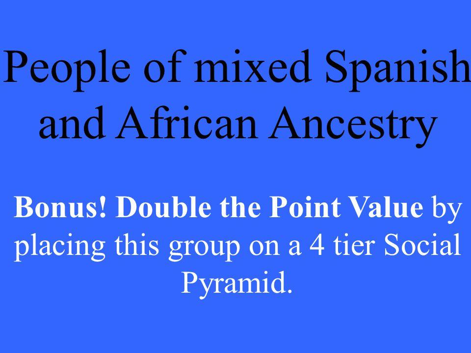 What is a Mulatto?. Bonus answer: Peninsulare Creole Mestizo Native American Mulatto Slave