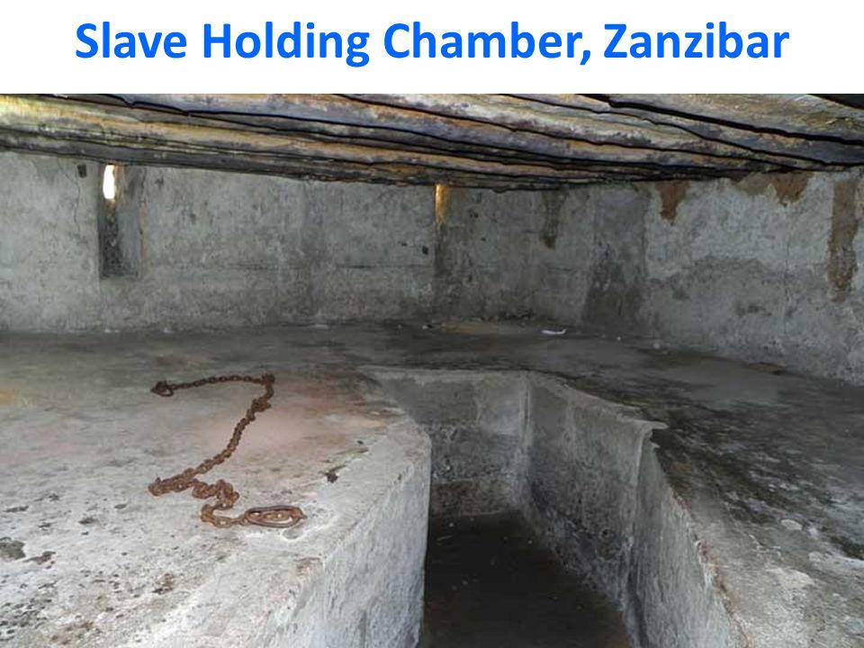 Slave Holding Chamber, Zanzibar