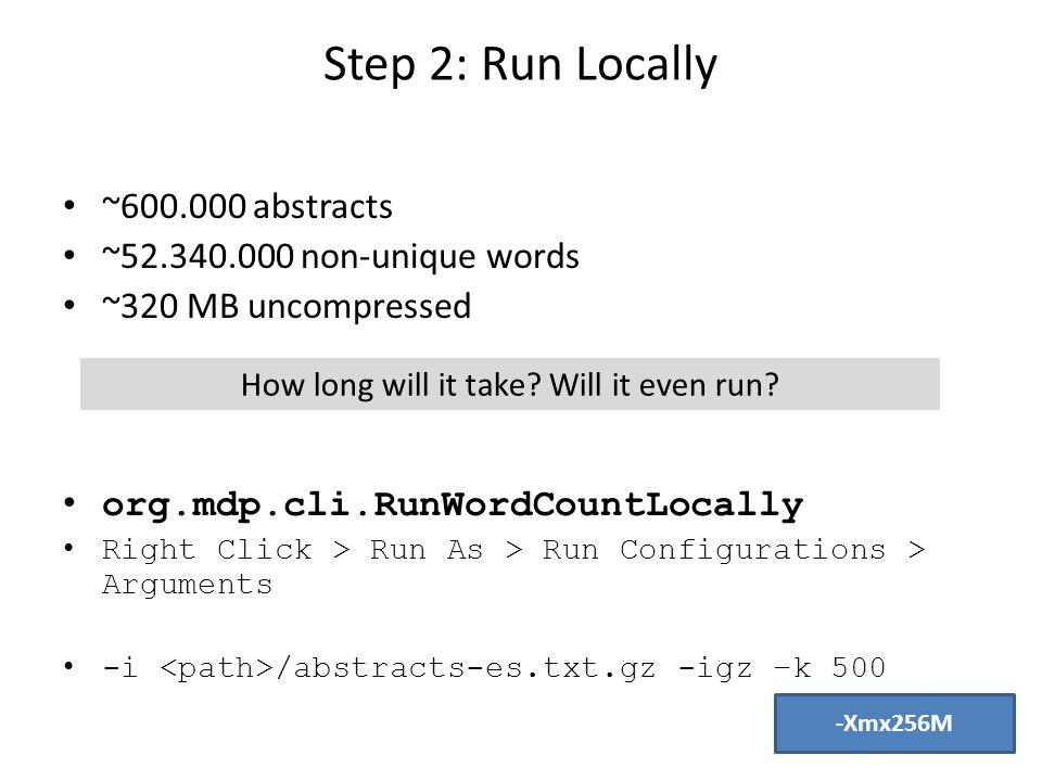 Step 3: Start the Directory I start the directory.