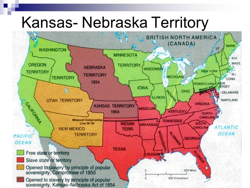 Kansas- Nebraska Territory