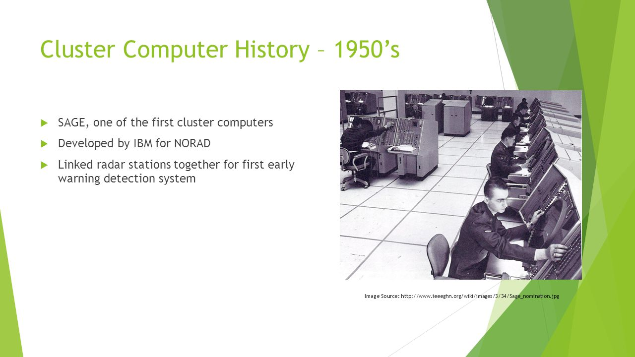Cluster Computer History – 1970's  Technological Advancements  VLSI (Very Large Scale Integration)  Ethernet  UNIX Operating System