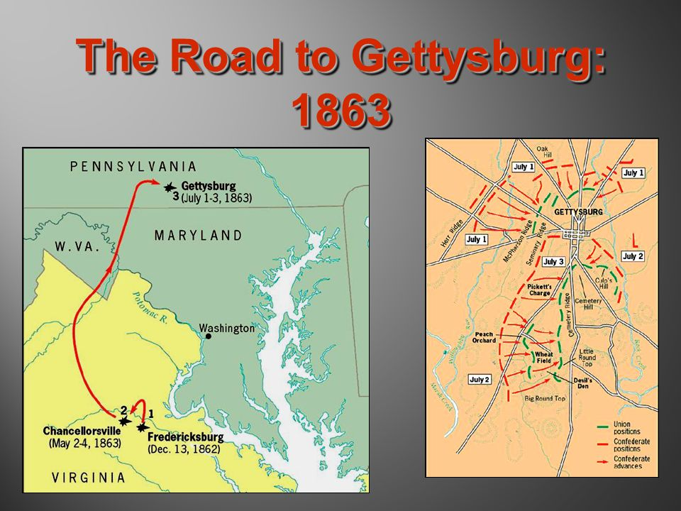 The Road to Gettysburg: 1863