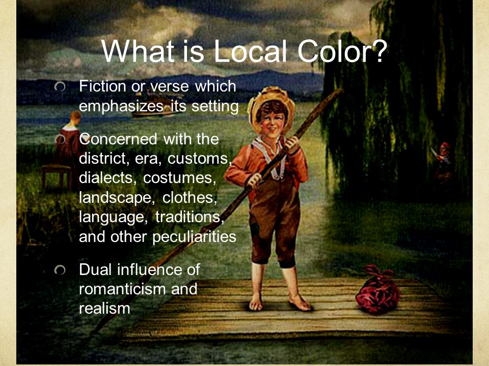 What is Local Color.