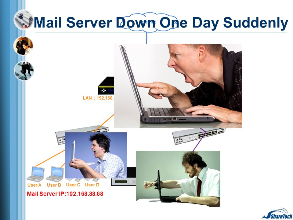 Mail Server IP:192.168.88.68 Mail Server Down One Day Suddenly