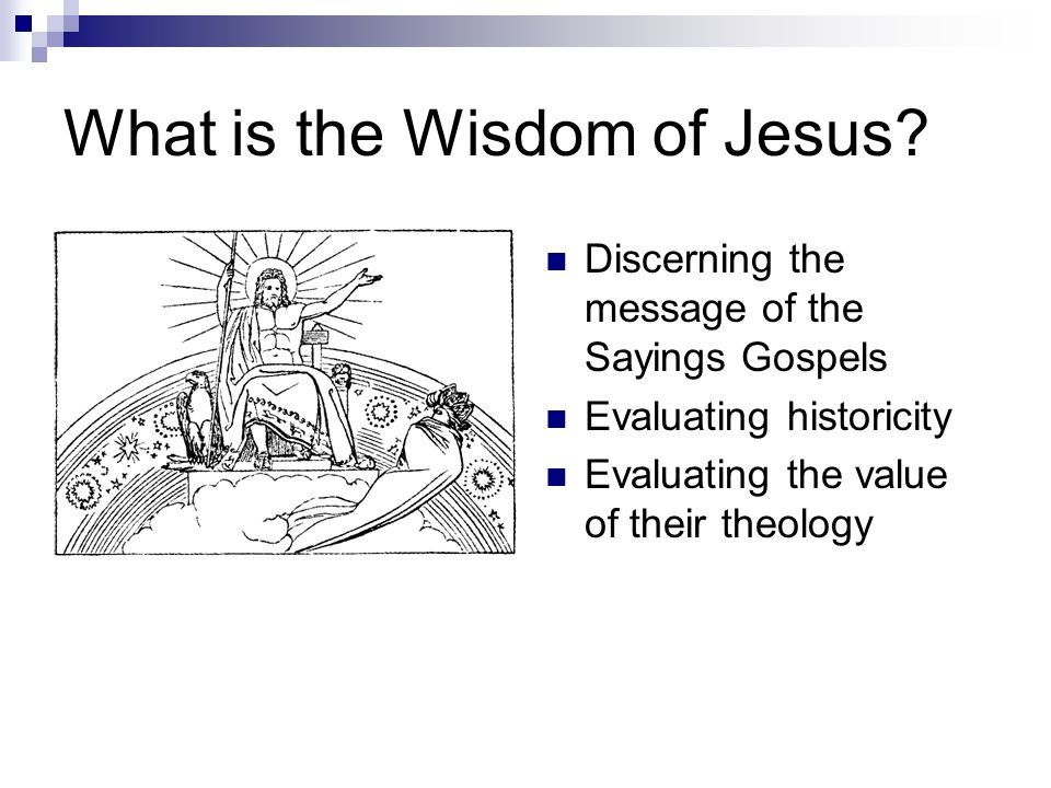 What is the Wisdom of Jesus.