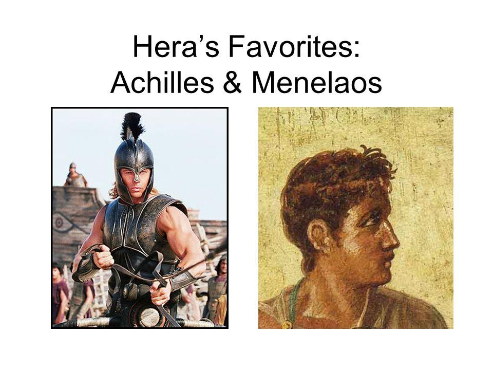 Hera's Favorites: Achilles & Menelaos