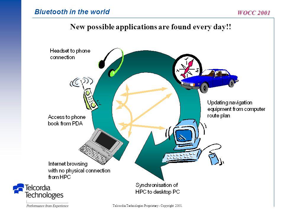 Telcordia Technologies Proprietary - Copyright 2001.