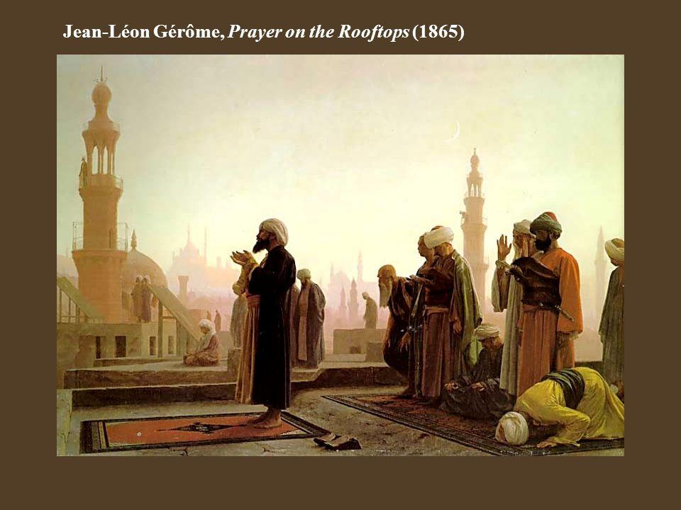 Jean-Léon Gérôme, Prayer on the Rooftops (1865)