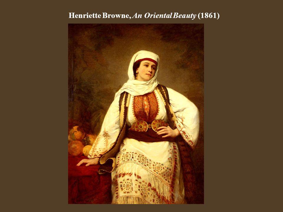 Henriette Browne, An Oriental Beauty (1861)