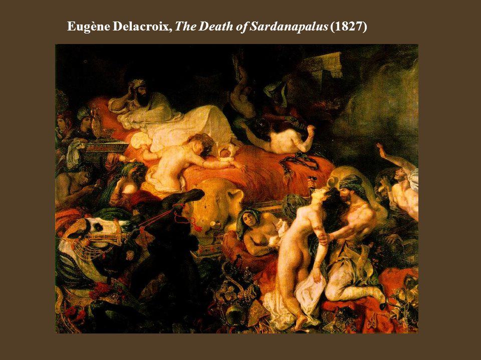 Eugène Delacroix, The Death of Sardanapalus (1827)