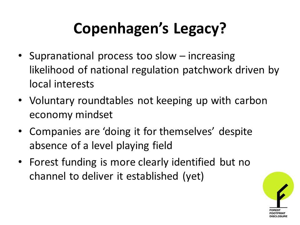 Copenhagen's Legacy.