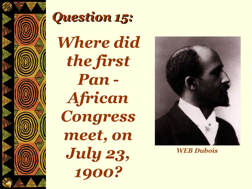 Question 14: How many Africans have won the Nobel Peace Prize?